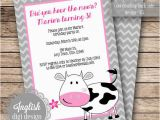 Cow Print Birthday Invitations Free Printable Cow Birthday Invitations Lijicinu