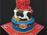 Cowboy Birthday Cake Decorations Cowboy Cake by Artediamore On Deviantart