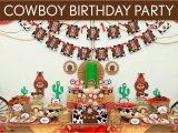 Cowboy Decorations for Birthday Party Cowboy 1st Birthday Party Ideas Home Party Ideas