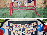 Cowboy Decorations for Birthday Party Kara 39 S Party Ideas Western Cowboy Saddle Up 2nd Birthday