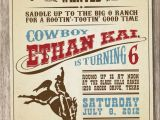 Cowboy Invites Birthday 1000 Ideas About Cowboy Party Invitations On Pinterest