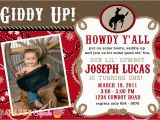 Cowboy Invites Birthday Birthday Invites Cowboy Birthday Invitations Template