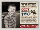Cowboy Invites Birthday Cowboy Birthday Invitation Ideas Bagvania Free Printable