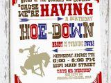 Cowboy Invites Birthday Cowboy Birthday Invitation