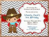 Cowboy Invites Birthday Items Similar to Cowboy Birthday Party Invitation Cowgirl