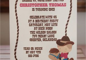 Cowgirl Birthday Invitation Wording Western Party Invitations Party Invitations Templates