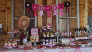Cowgirl Decorations for Birthday Party 20 Cowgirl Birthday Party Ideas Birthday Inspire
