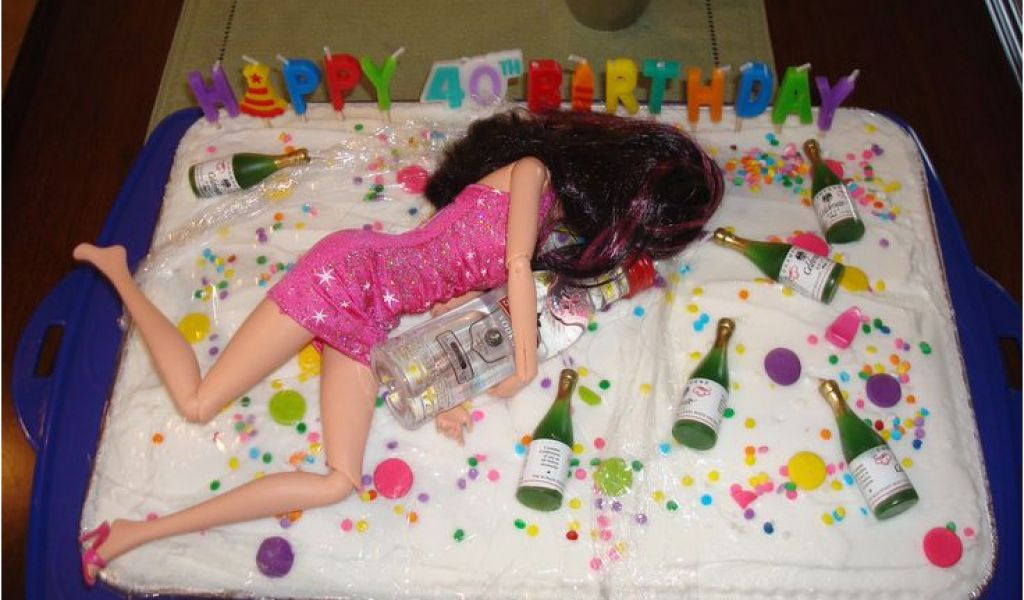 Crazy 40th Birthday Ideas Best 10 Funny Cakes On