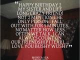 Crazy Happy Birthday Quotes Crazy Sister Quotes Quotesgram