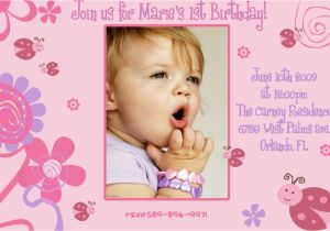 Create 1st Birthday Invitation Card For Free Invitations Templates Ideas Anouk