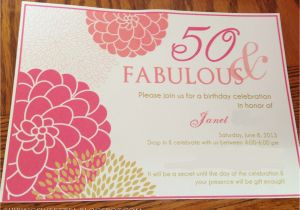 Create 50th Birthday Invitations Free Party With Alluring