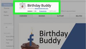 Create A Birthday Card On Facebook 3 Ways to Create A Birthday Card On Facebook Wikihow