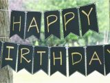 Create A Happy Birthday Banner How to Create A Simple Elegant Birthday Banner Diy