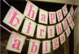 Create A Happy Birthday Banner Items Similar to Happy Birthday Banner Customized with
