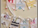 Create A Happy Birthday Banner Stitch Cut Create Happy Birthday Banner May Arts