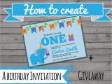 Create Birthday Invitation Video How to Create An Invitation the Best Ideas for Kids