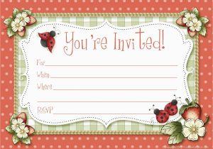 Create Birthday Invitations Online Free Printable Custom Invitation Maker