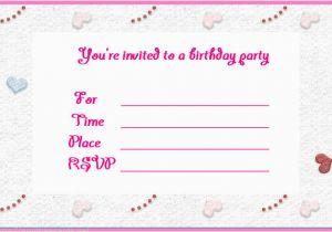 Create Birthday Invite Online Birthday Invites Make Birthday