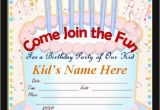 Create Birthday Invites Online Free Make Your Own Birthday Invitations Free Template Resume