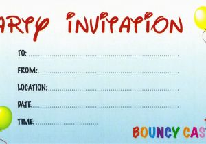Create Birthday Party Invitations Online Free Design Your Own