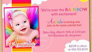 Create First Birthday Invitations Online Free 1st Birthday Invitation Cards Templates Free theveliger