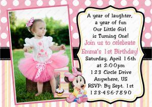 Create First Birthday Invitations Online Free 1st Invitation Card