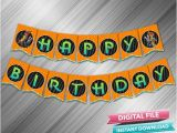 Create Happy Birthday Banner Zootopia Happy Birthday Banner Instant Download Etsy