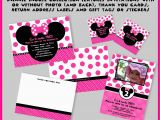Create Minnie Mouse Birthday Invitations Best Minnie Mouse Party Invitations Templates Egreeting