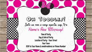 Create Minnie Mouse Birthday Invitations Create Minnie Mouse Birthday Invitation Template Free
