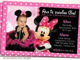 Create Minnie Mouse Birthday Invitations Create Minnie Mouse Birthday Invitations Designs with