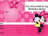 Create Minnie Mouse Birthday Invitations Minnie Mouse Free Printable Invitation Templates