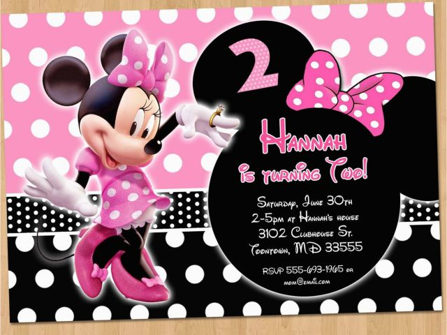 Download By SizeHandphone Tablet Desktop Original Size Back To Create Minnie Mouse Birthday Invitations