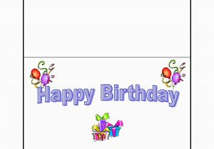 Create Your Own Happy Birthday Card Design Free Printable Best