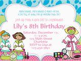 Creating Birthday Invitations Online Birthday Party Invitation Template Bagvania Free