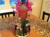 Creative 21st Birthday Gift Ideas for Her Alcohol Nipper Cake for A Friends Birthday We Did This