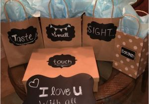 Creative 30th Birthday Gift Ideas for Him India 5 Senses Easy Diy Birthday Gifts for Boyfriend
