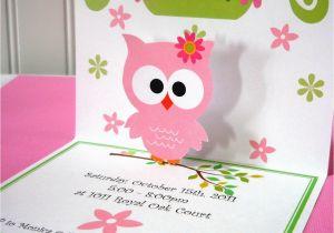 Cricut Birthday Invitation Templates I Made these Owl Invitations with My Cricut Machine Bow is
