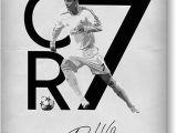 Cristiano Ronaldo Happy Birthday Card Cristiano Ronaldo Greeting Cards for Sale