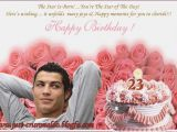 Cristiano Ronaldo Happy Birthday Card Cristiano Ronaldo Happy Birthday Card Draestant Info