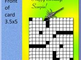 Crossword Puzzle Birthday Card 50 Luxury Crossword Birthday Card withlovetyra Com