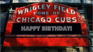 Cubs Birthday Meme Happy Birthday From Chicago Cubs Chicago Cubs