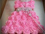Cupcake Birthday Dresses Princess Dress Cake Anna 39 S Frozen Birthday Party