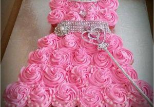 Cupcake Birthday Dresses Princess Dress Cake Anna 39 S Frozen Party
