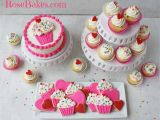 Cupcake Ideas for Birthday Girl Cupcakes Hearts 1st Birthday Party Cookies Cupcakes