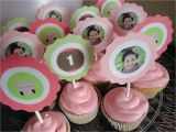 Cupcake Ideas for Birthday Girl Girls First Birthday Party Ideas Pink and Green Owl theme