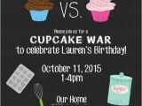 Cupcake Wars Birthday Party Invitations 29 Best Kids Birthday Ideas Images On Pinterest Cupcake