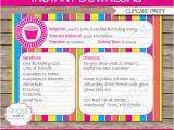 Cupcake Wars Birthday Party Invitations Cupcake Party Invitations Template Recipe Card Invitations