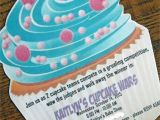 Cupcake Wars Birthday Party Invitations Cupcake Wars Birthday Party Invitation Diy Home Decor