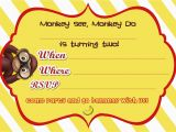 Curious George 2nd Birthday Invitations Free Printable Curious George 2nd Birthday Invitation