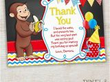 Curious George Birthday Cards 41 Best Curious George Birthday Invitations Thank You